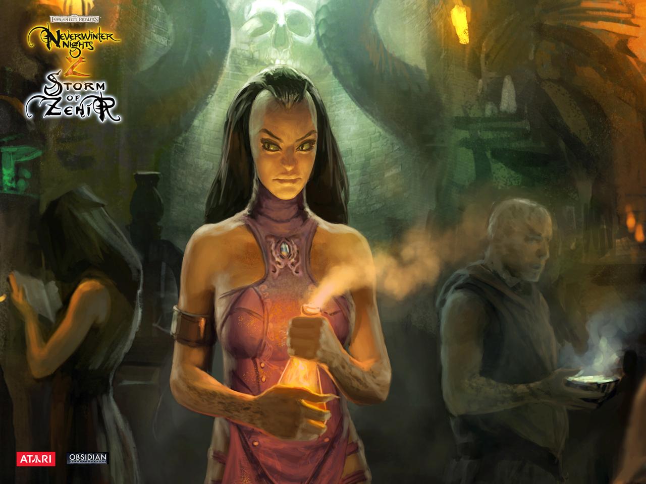 Арт к игре Neverwinter Nights 2: Storm of Zehir