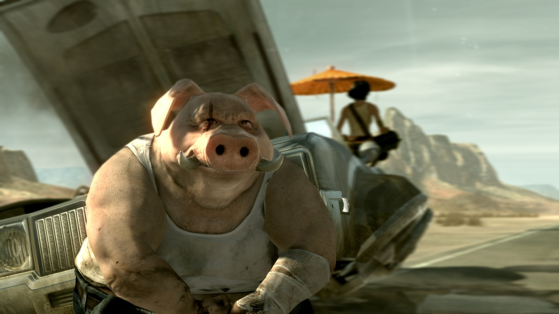 Арт к игре Beyond Good and Evil