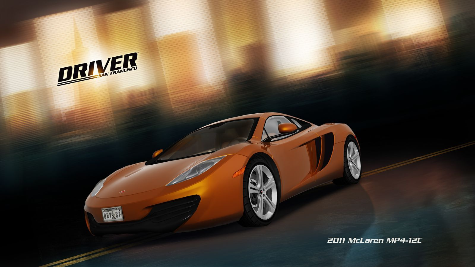 Арт к игре Driver: San Francisco