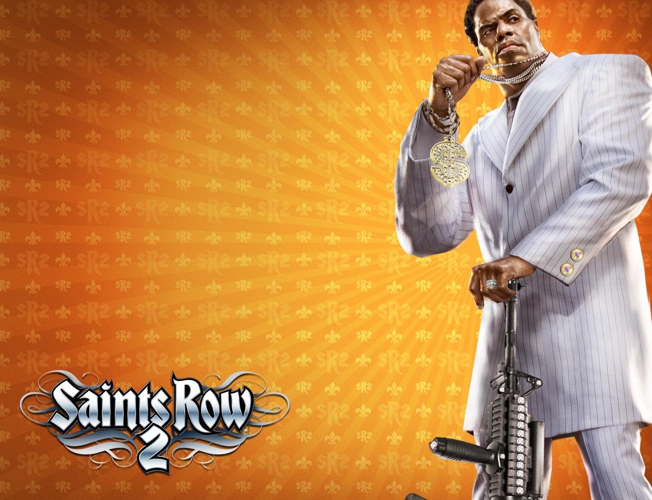 Арт к игре Saints Row 2