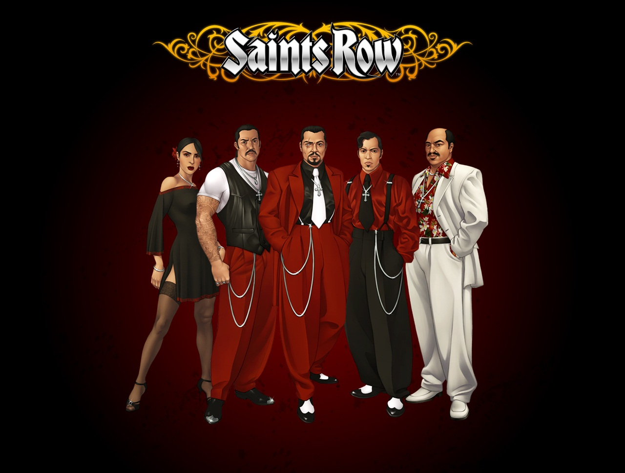 Арт к игре Saints Row
