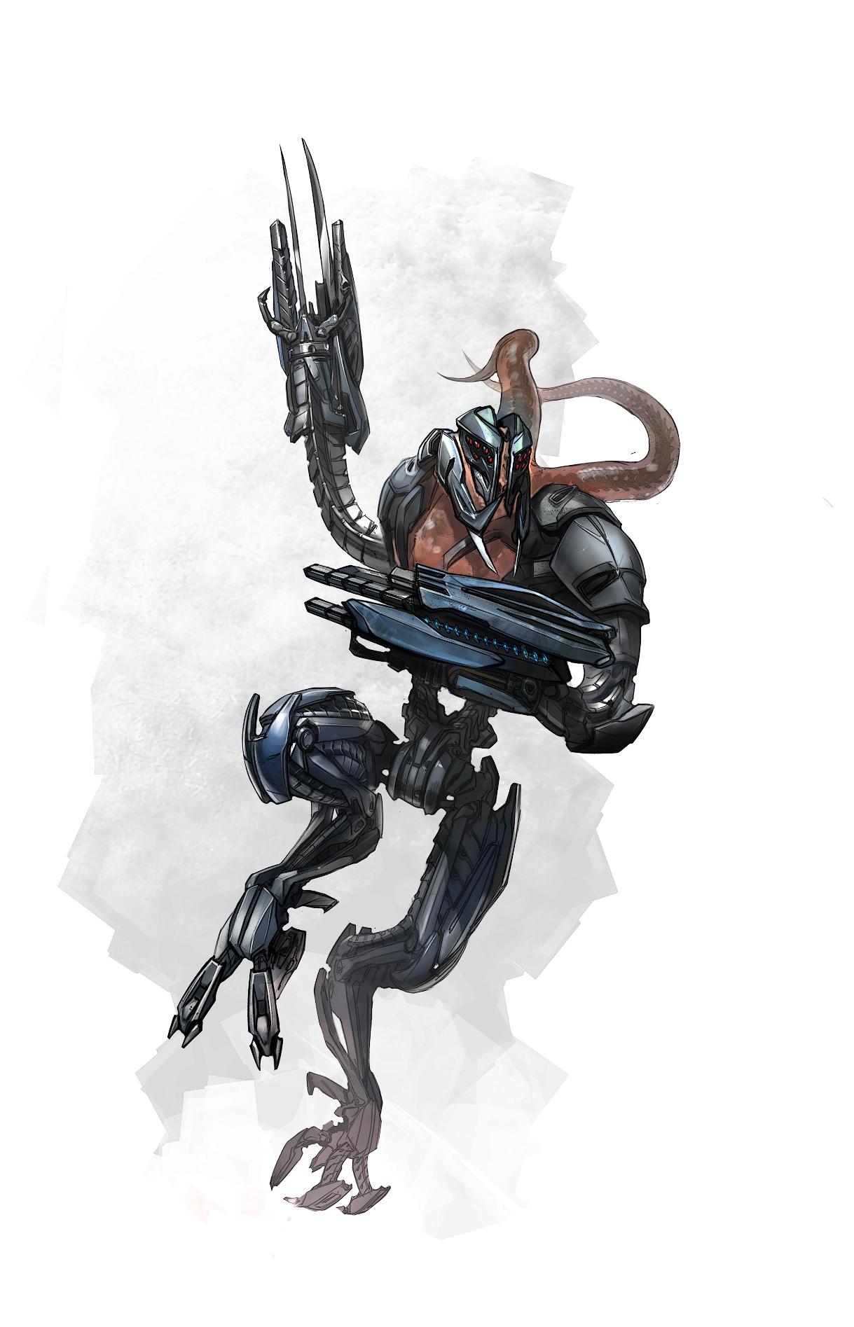 Арт к игре Crysis 2