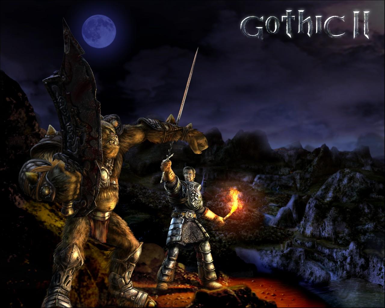 Арт к игре Gothic 2