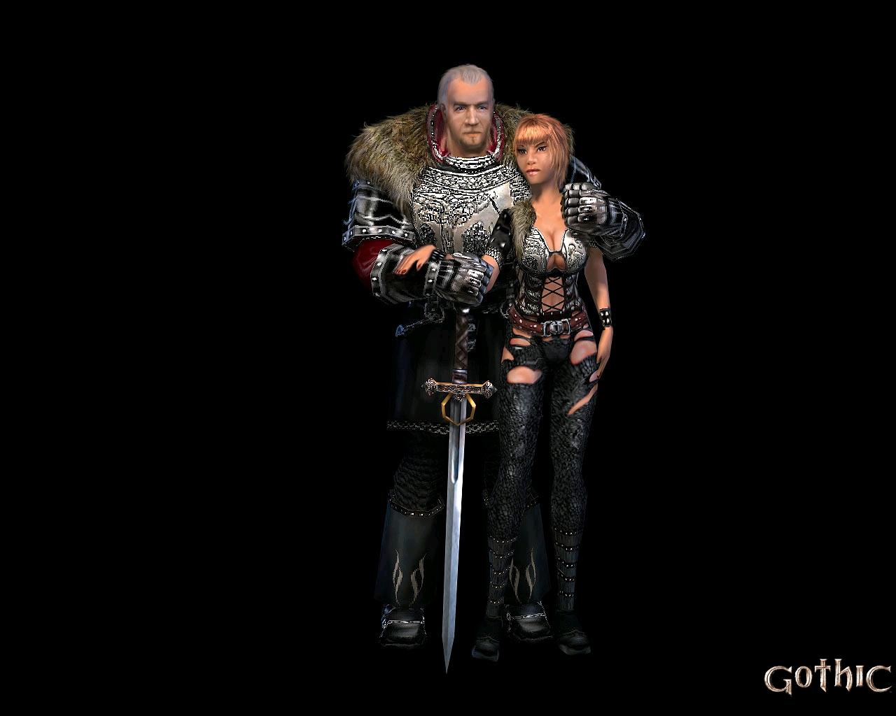 Арт к игре Gothic