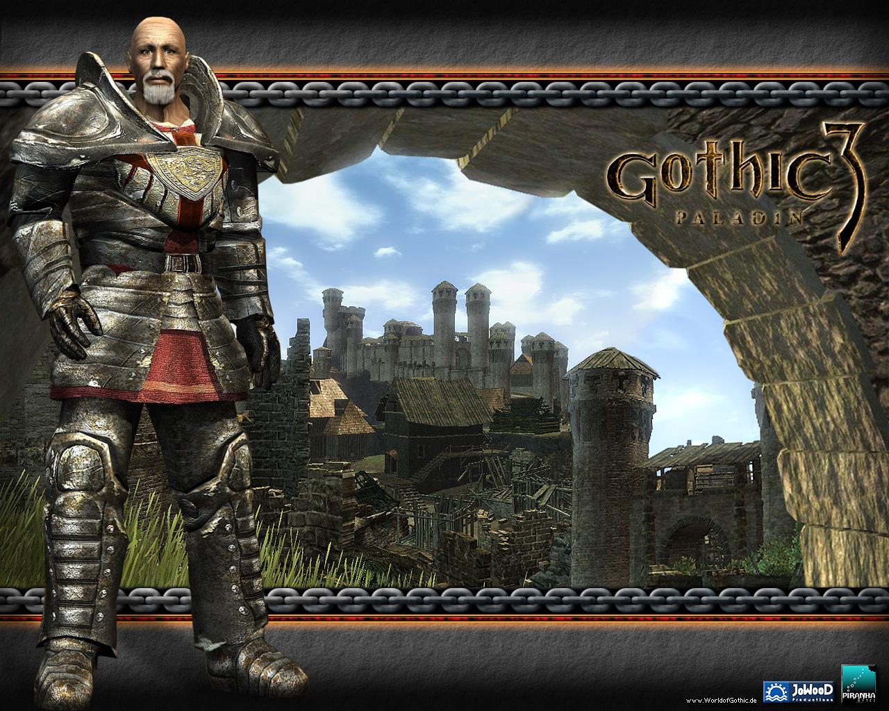 Арт к игре Gothic 3