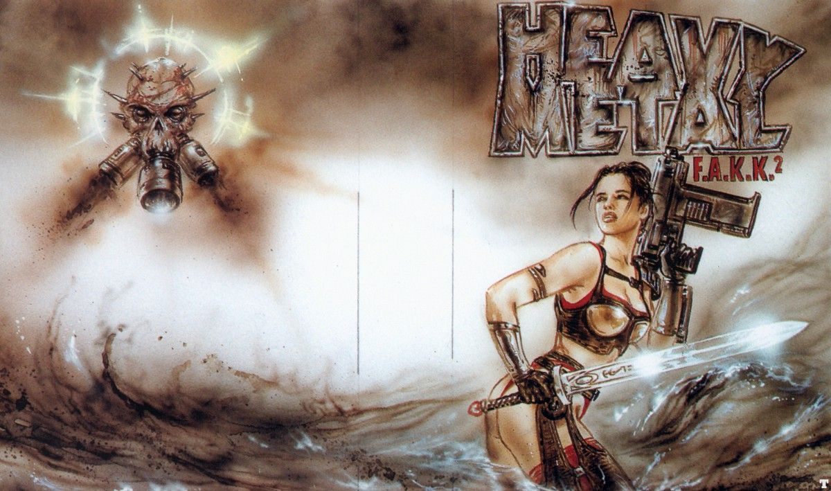 Арт к игре Heavy Metal: F.A.K.K. 2