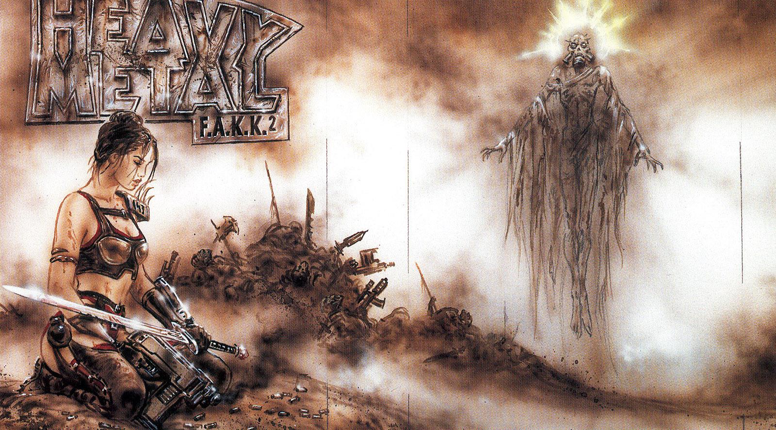 Арт к игре Heavy Metal: F.A.K.K. 2