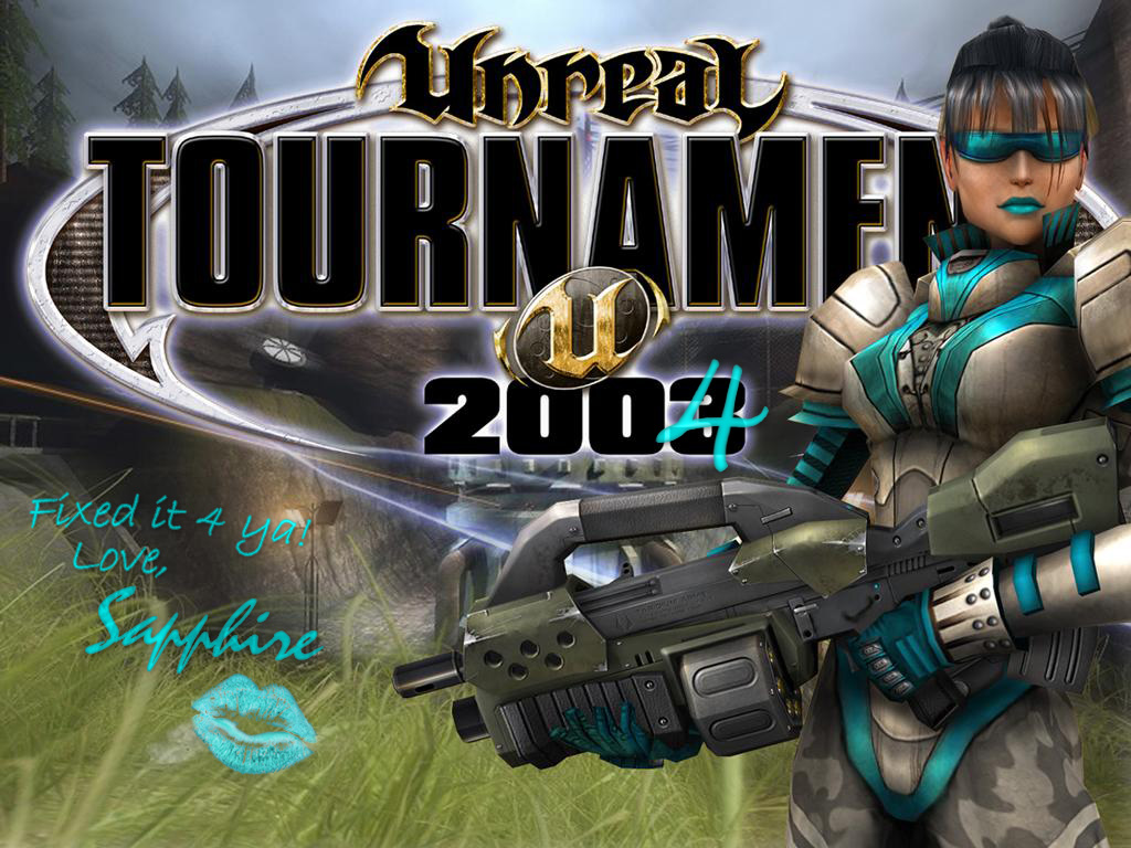 Арт к игре Unreal Tournament 2004