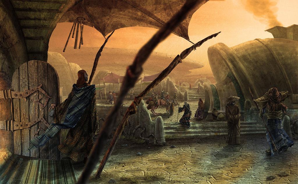 Арт к игре The Elder Scrolls III: Morrowind