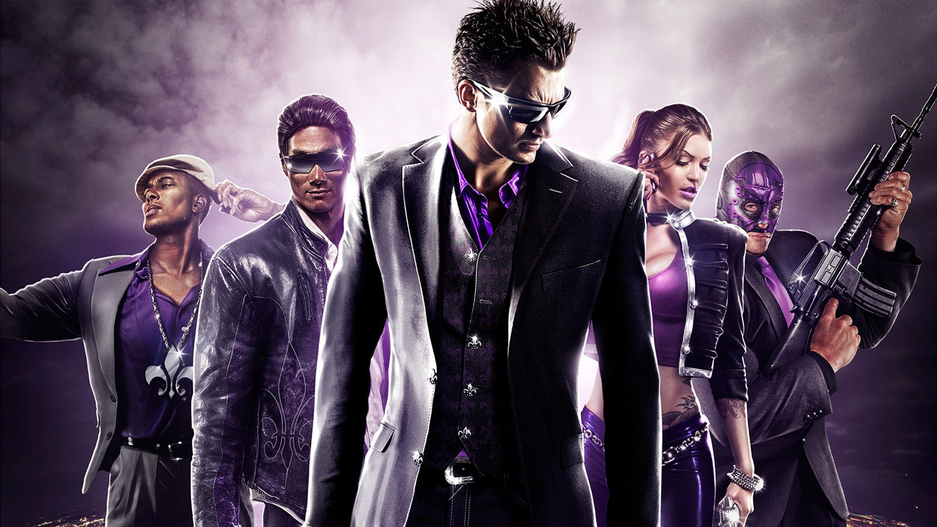 Арт к игре Saints Row: The Third