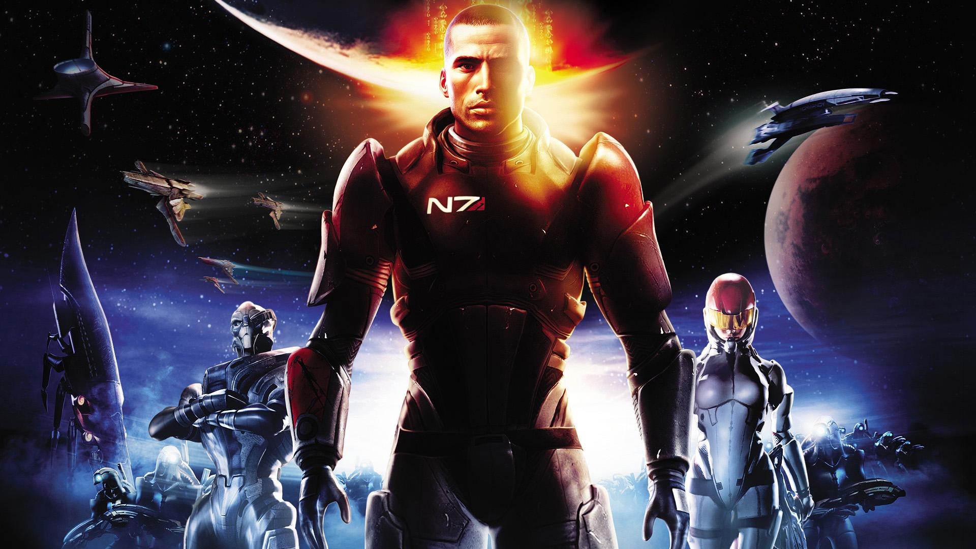 Арт к игре Mass Effect