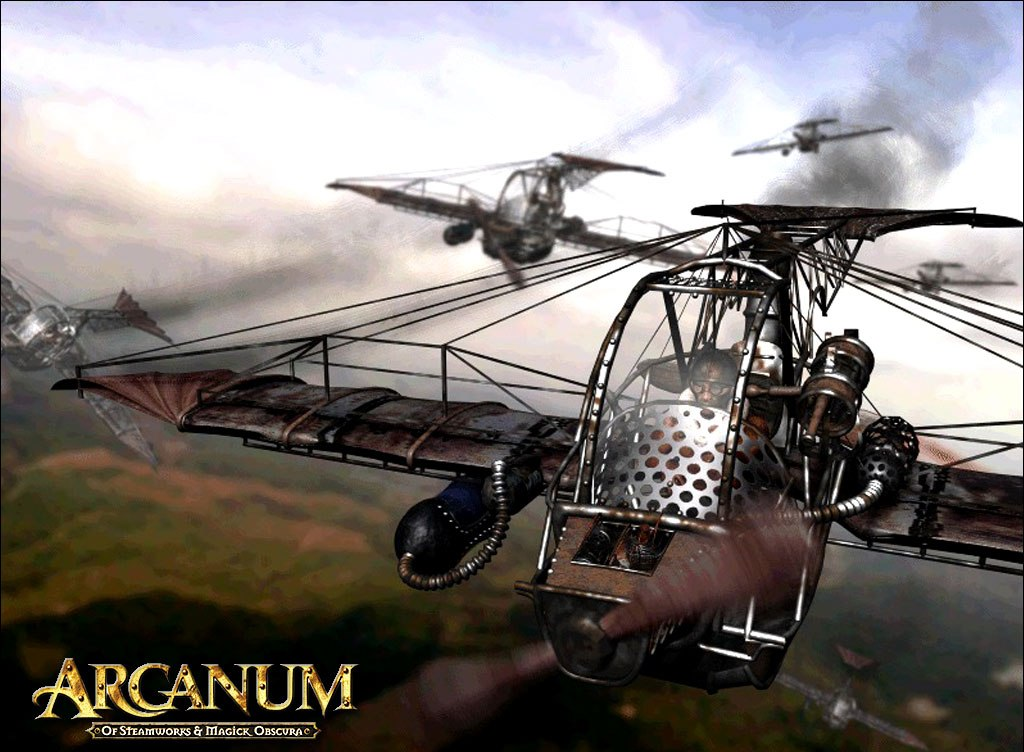 Арт к игре Arcanum: Of Steamworks and Magick Obscura