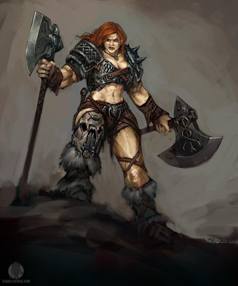 Арт к игре Diablo 3