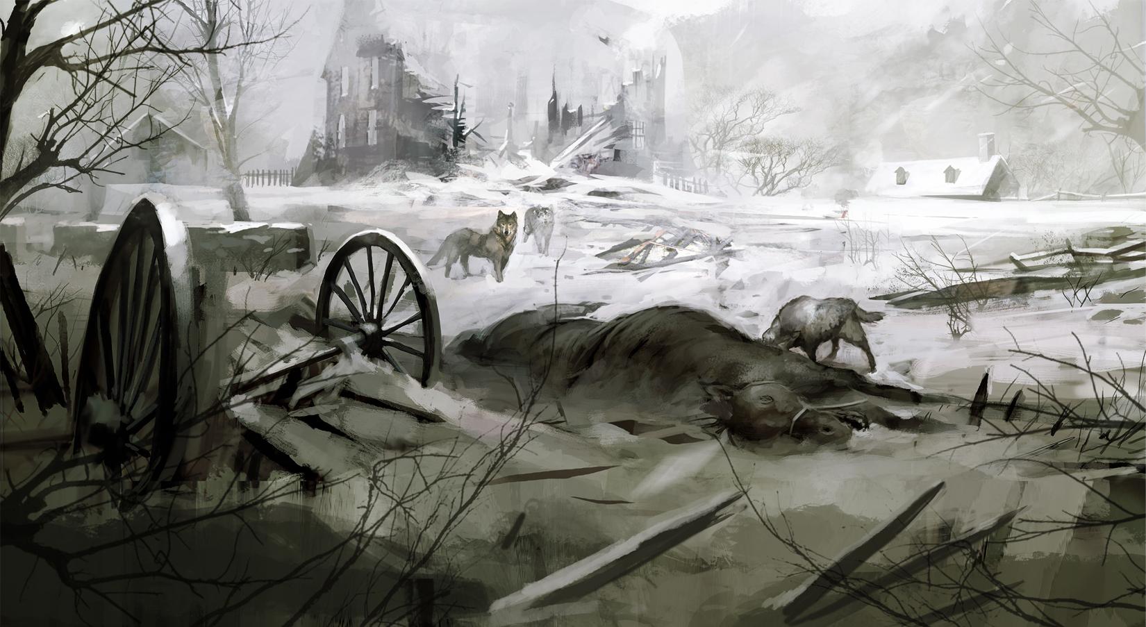 Арт к игре Assassin's Creed III: The Tyranny of King Washington