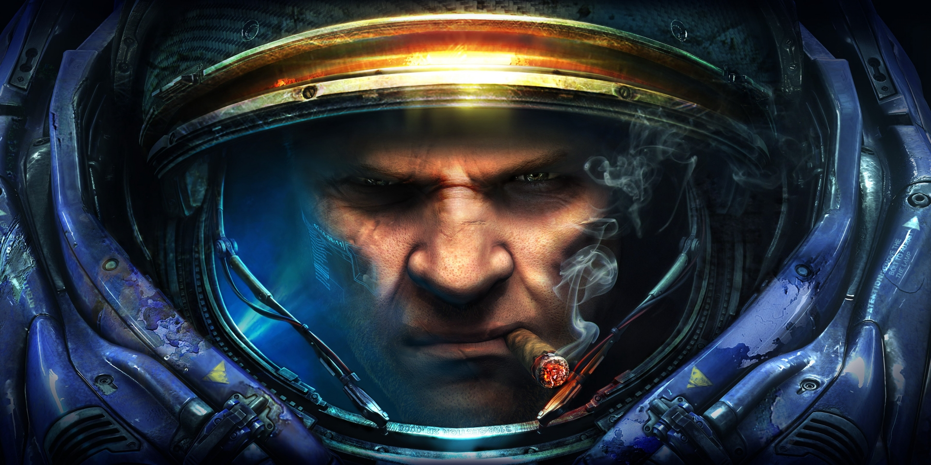 Арт к игре StarCraft 2: Wings of Liberty
