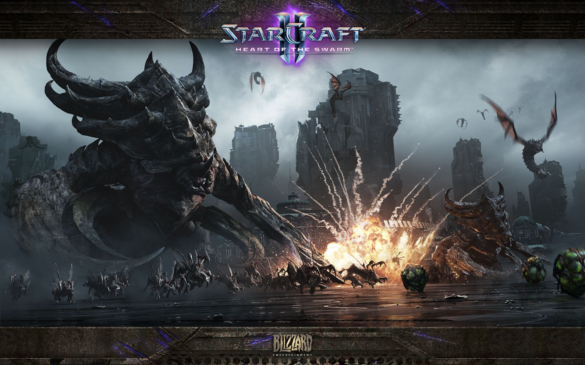 Арт к игре StarCraft 2: Heart Of The Swarm