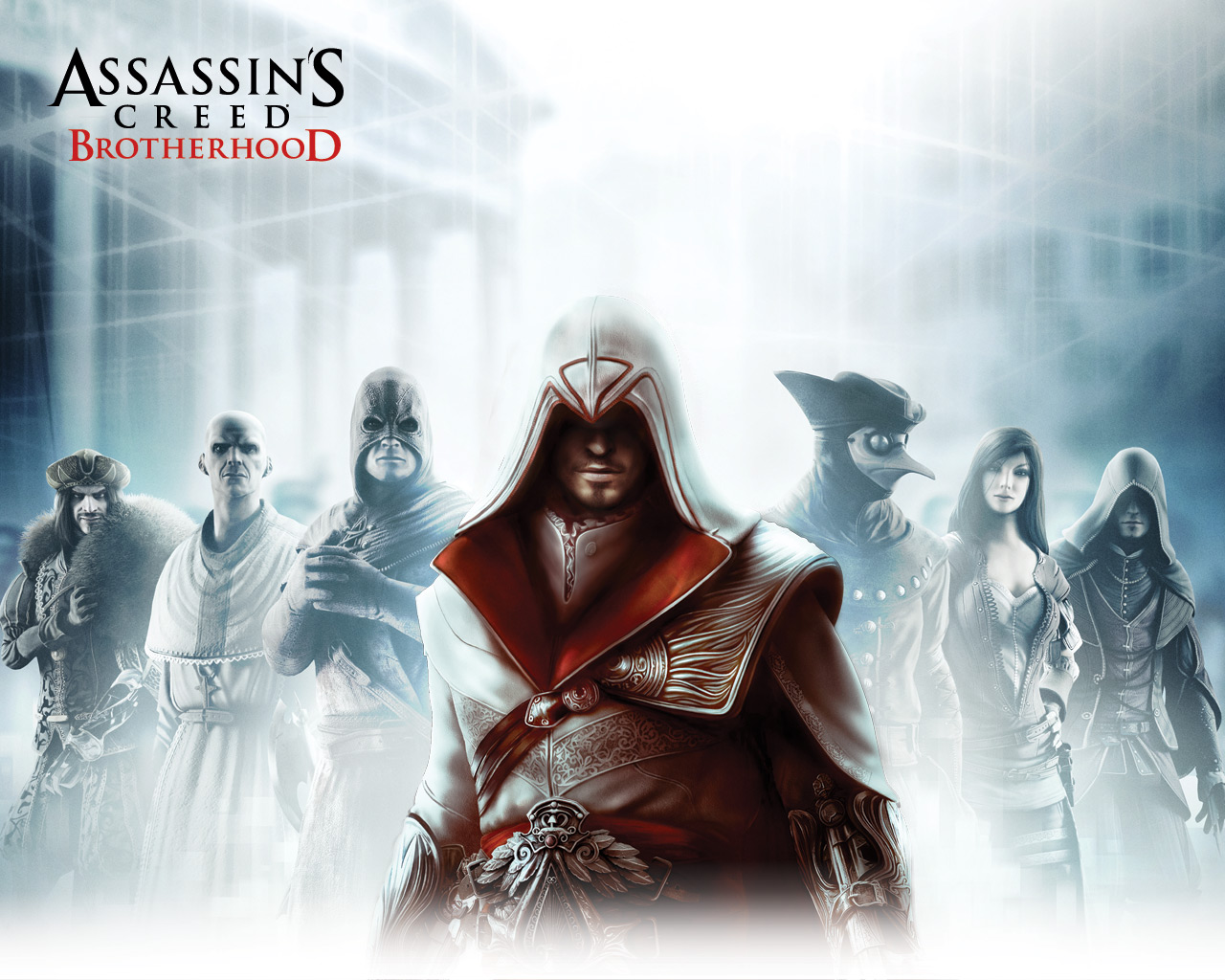 Арт к игре Assassin's Creed: Brotherhood