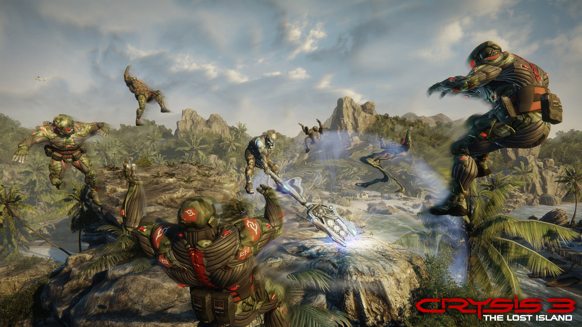 Арт к игре Crysis 3: The Lost Island
