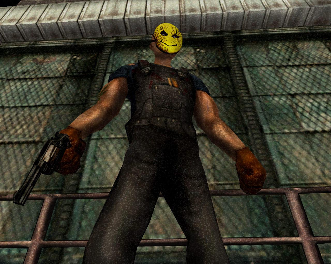 Арт к игре Manhunt