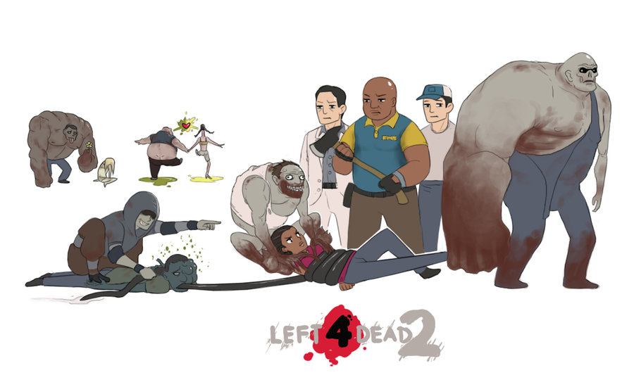 Арт к игре Left 4 Dead 2