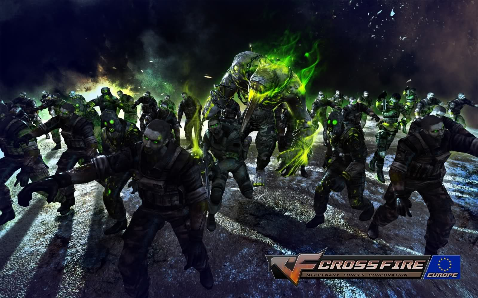 Арт к игре CrossFire