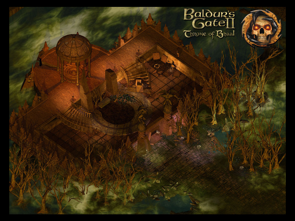 Арт к игре Baldur's Gate II: Throne of Bhaal