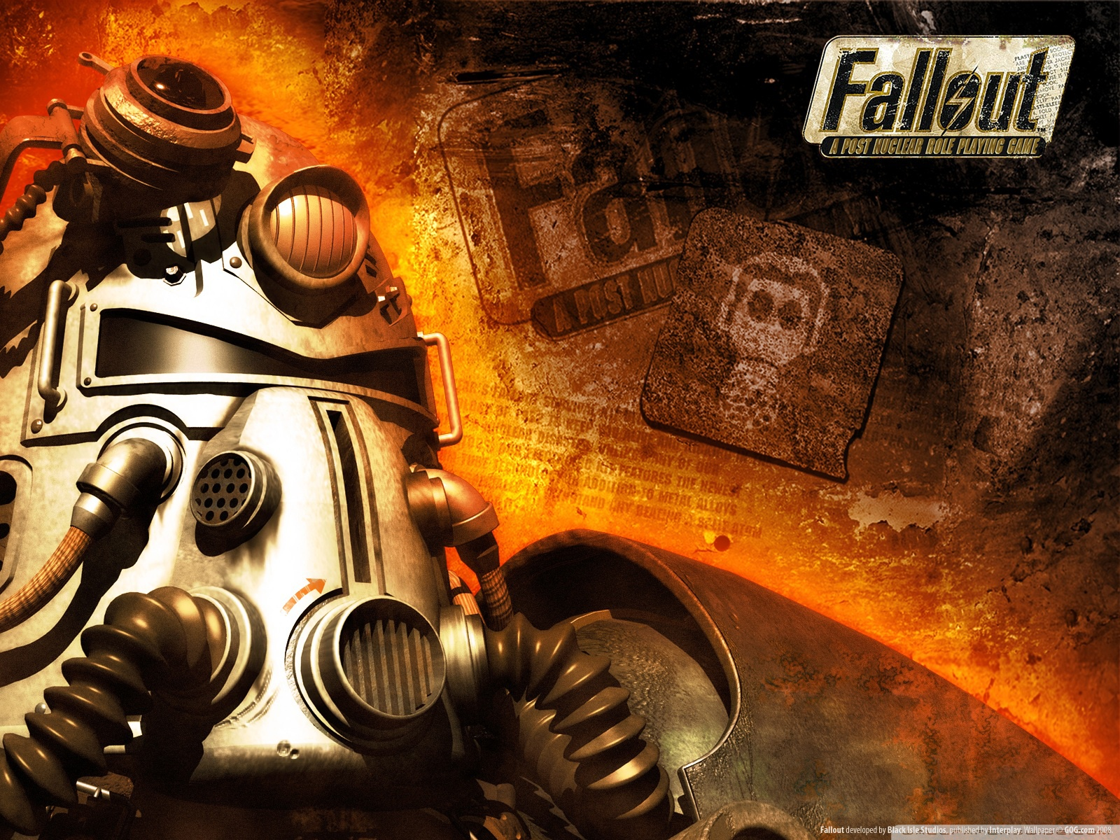 Арт к игре Fallout: A Post Nuclear Role Playing Game