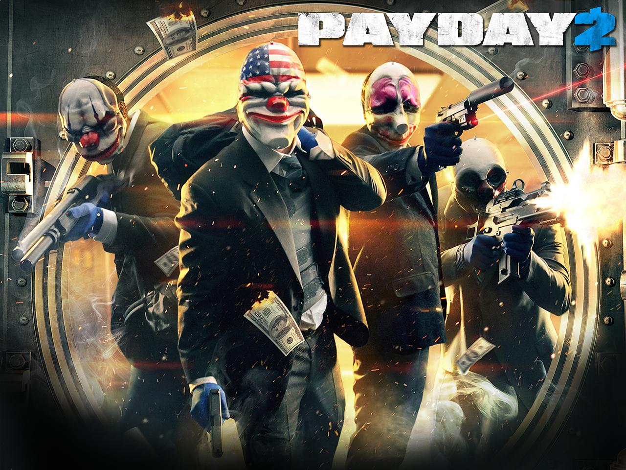 Арт к игре Payday 2