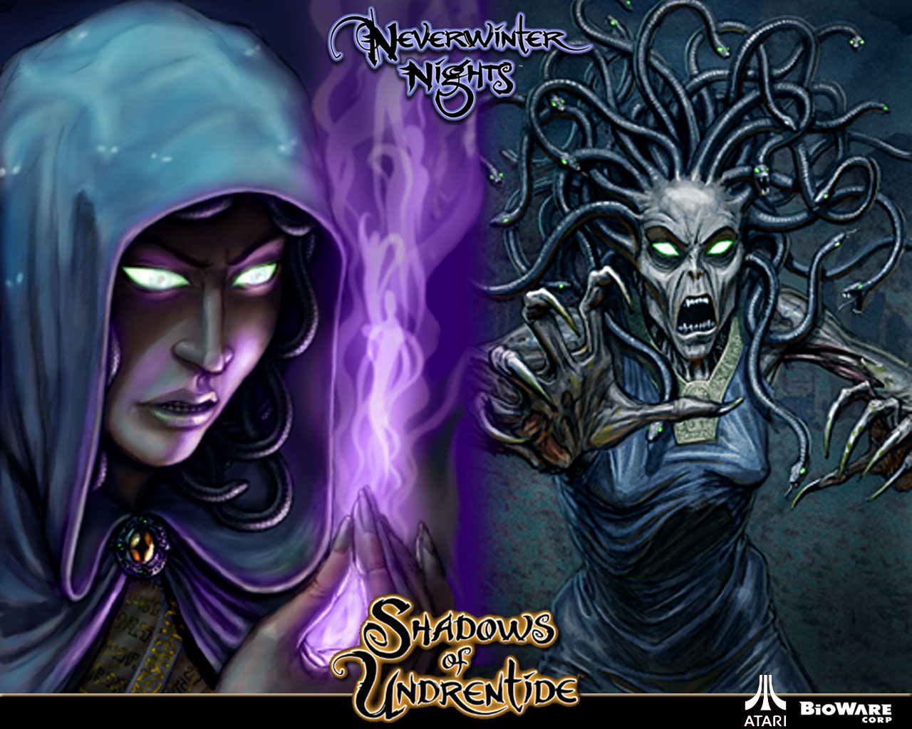 Арт к игре Neverwinter Nights: Shadows of Undrentide