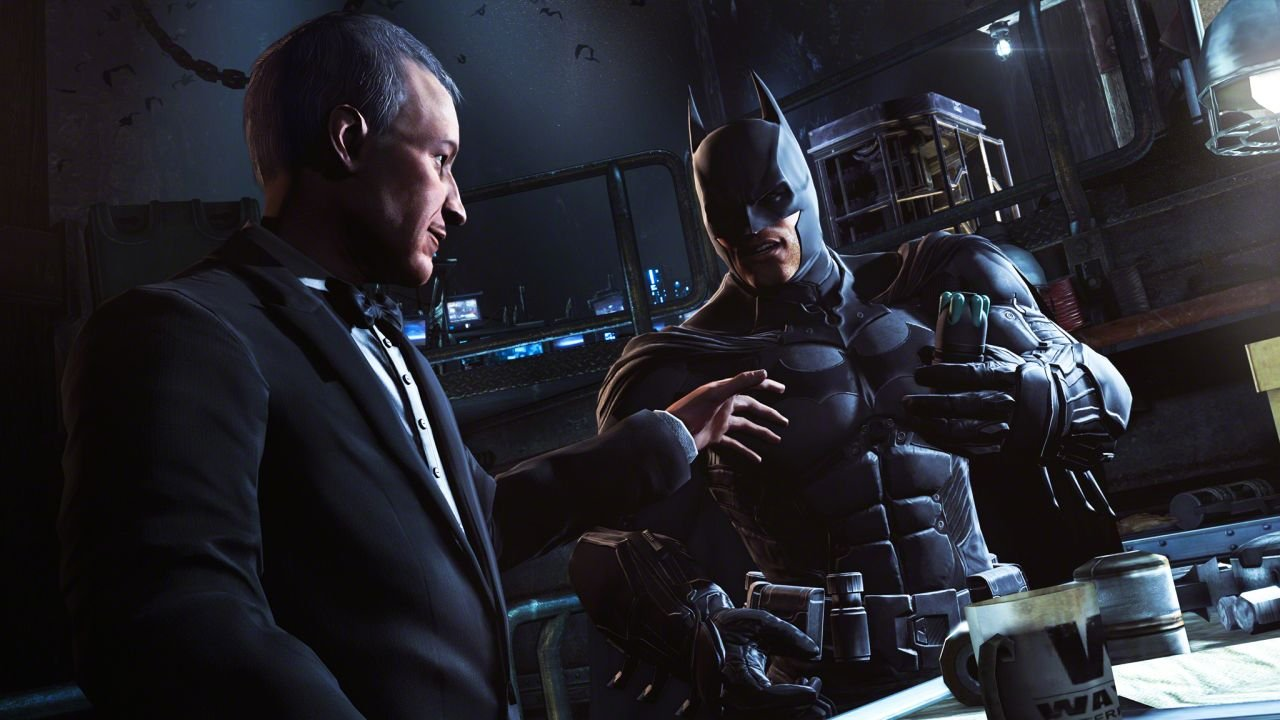 Арт к игре Batman: Arkham Origins