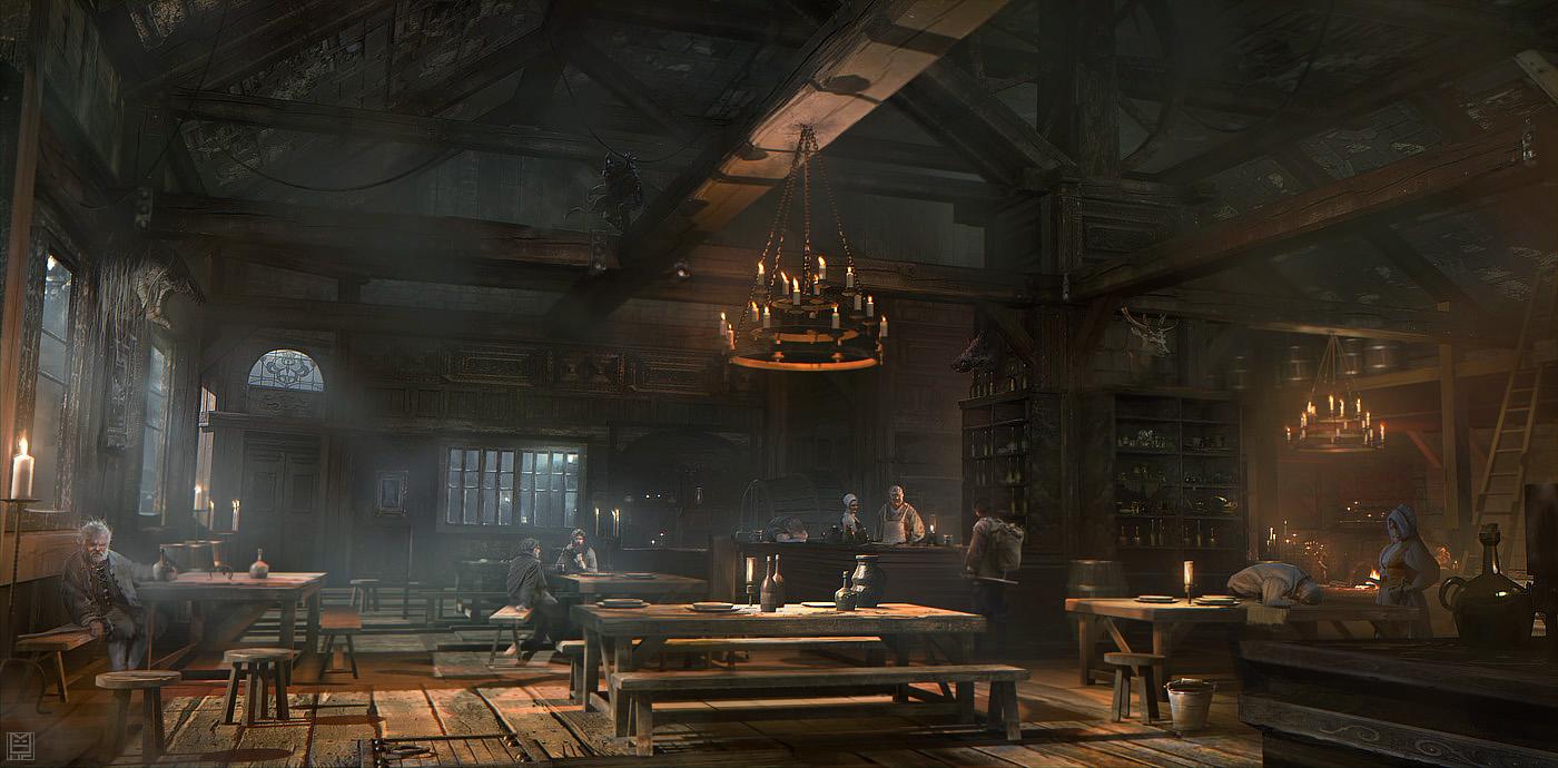 Арт к игре Thief