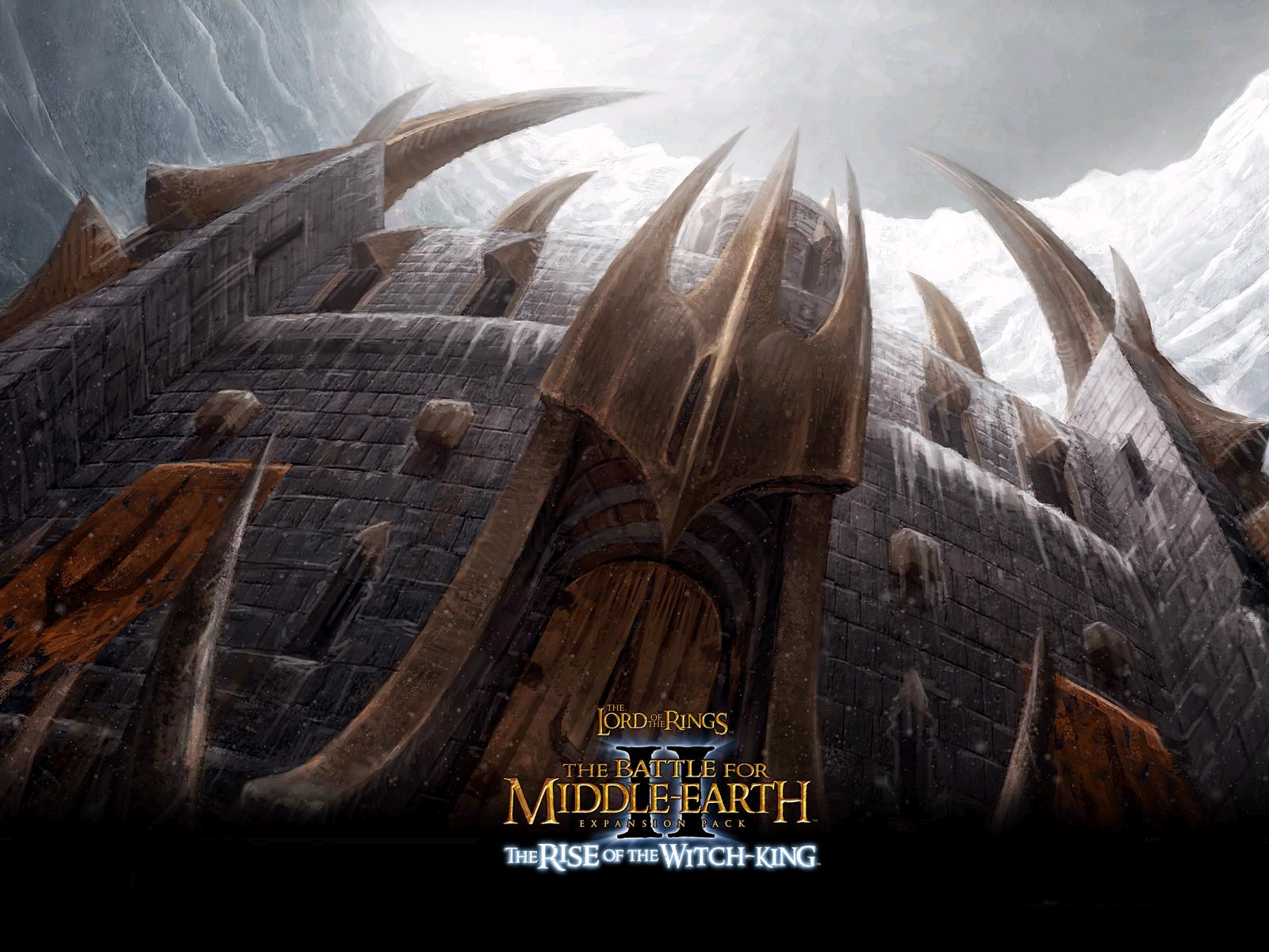 Арт к игре The Lord of the Rings: The Battle for Middle-earth II - The Rise of the Witch-King