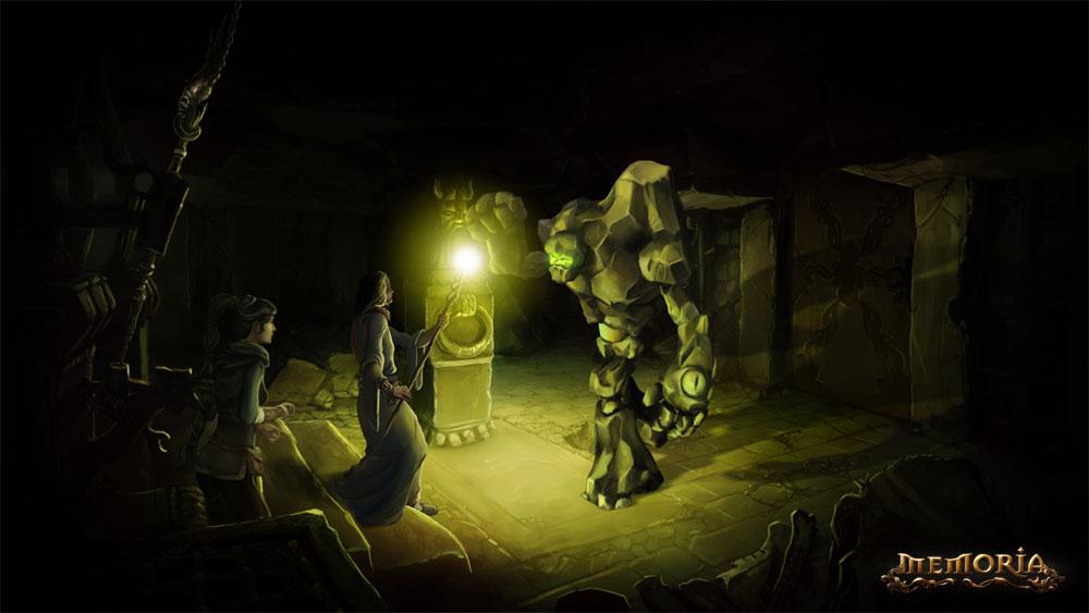 Арт к игре The Dark Eye: Memoria