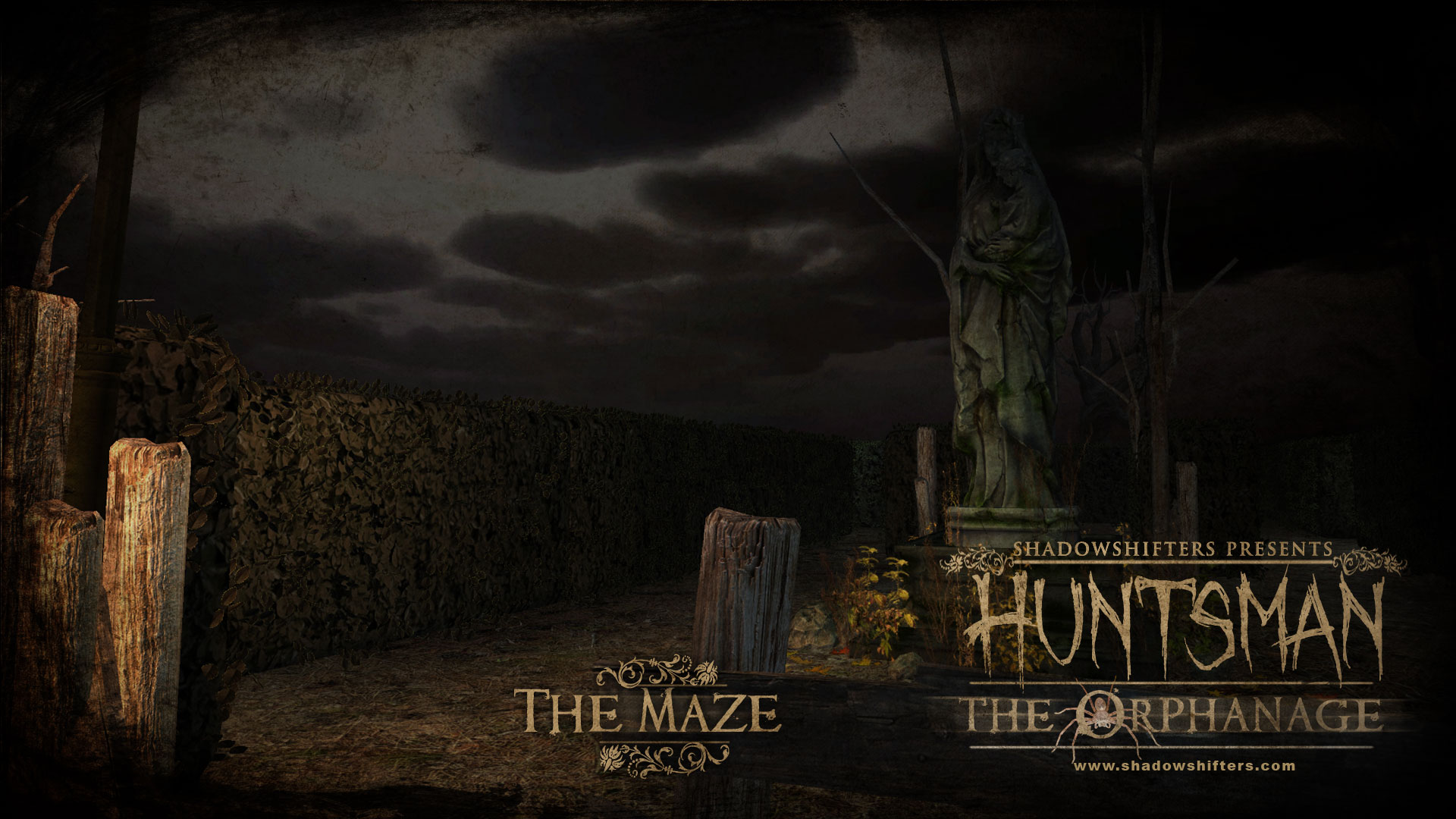Арт к игре Huntsman: The Orphanage