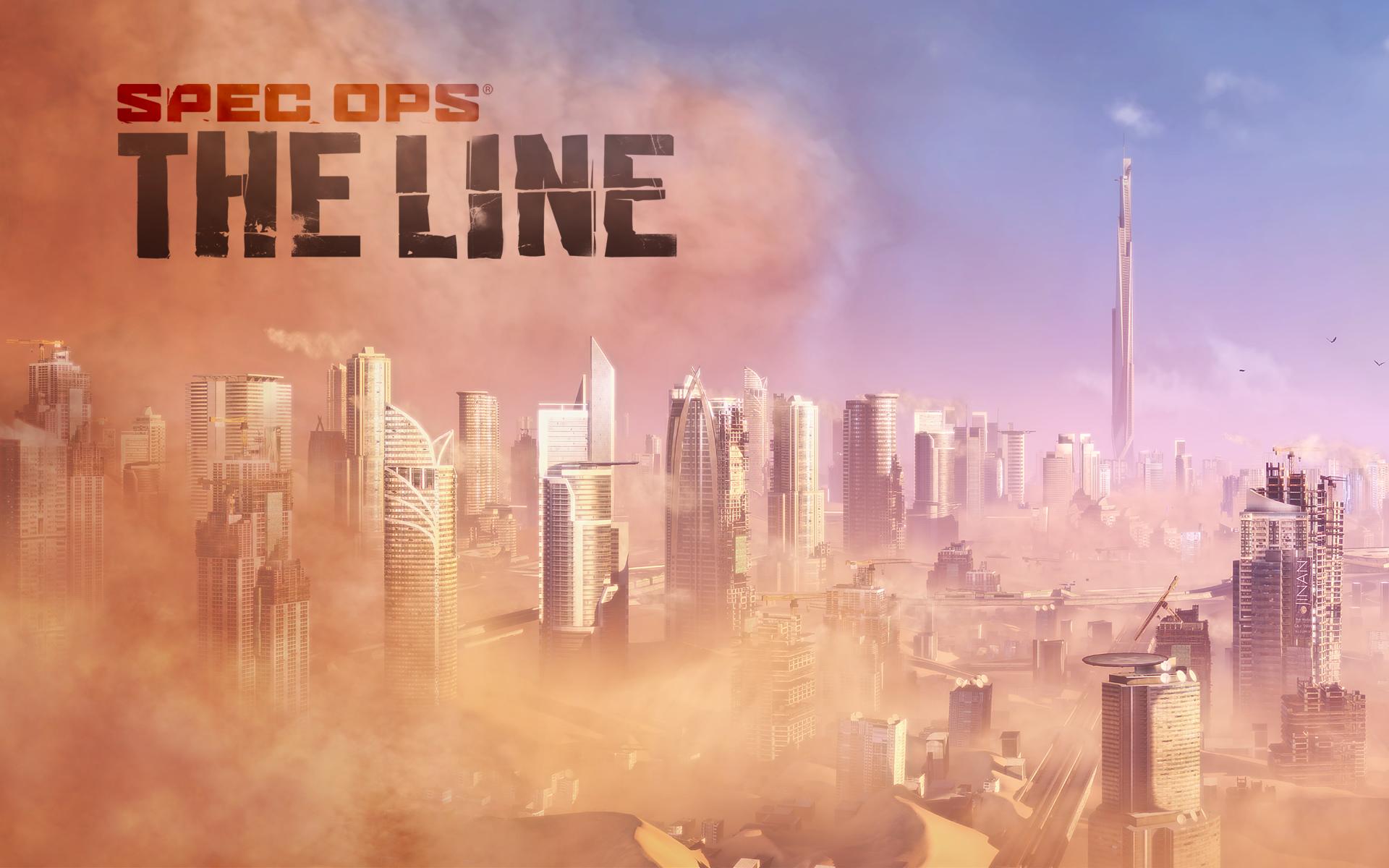 Арт к игре Spec Ops: The Line
