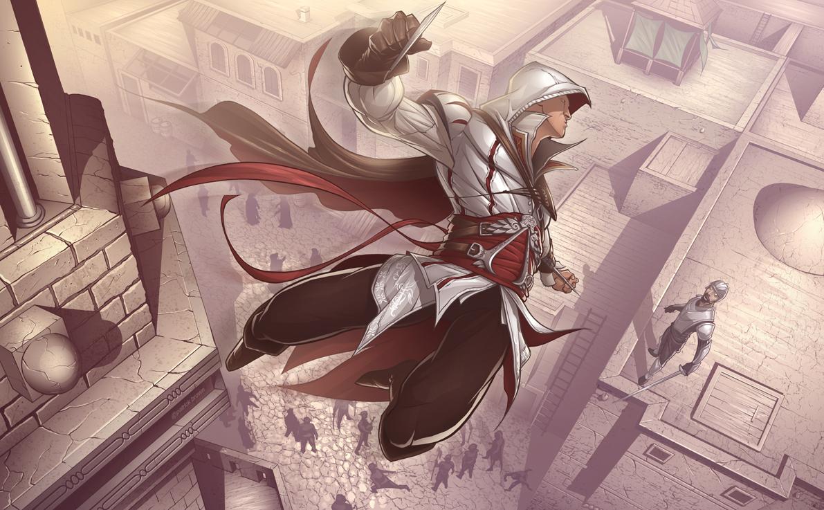 Арт к игре Assassin's Creed II