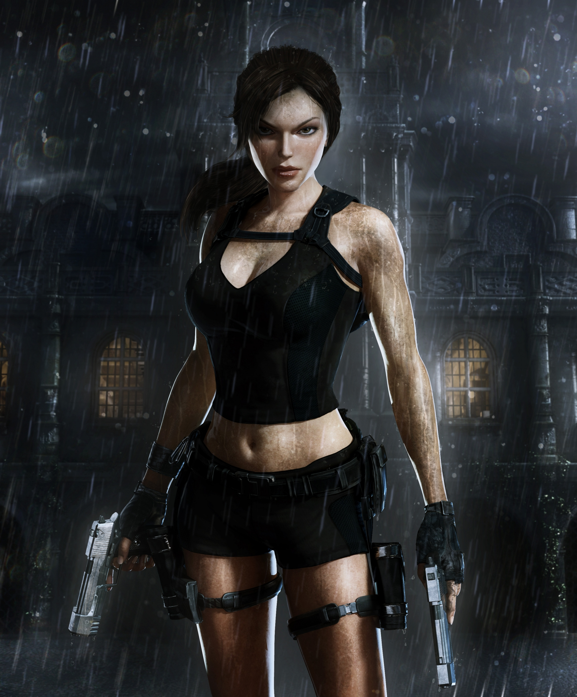 Арт к игре Tomb Raider: Underworld