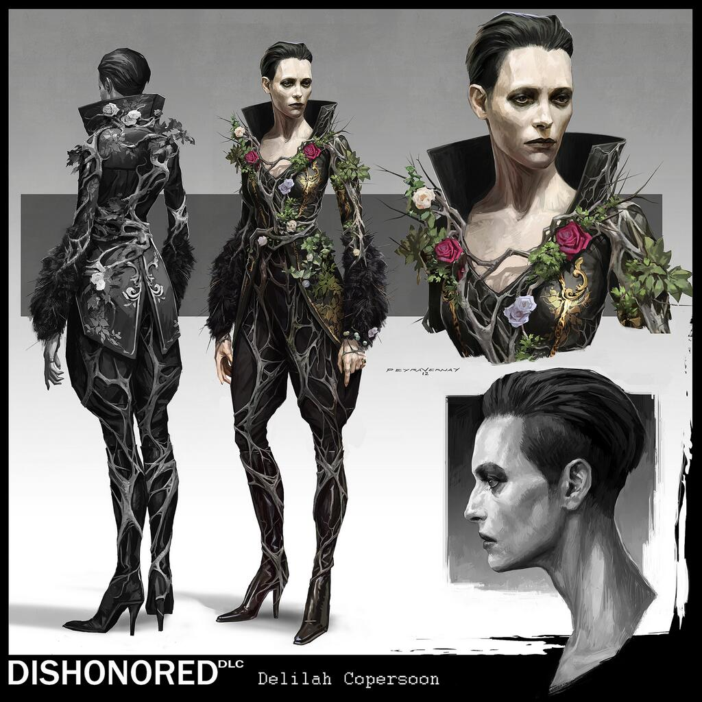 Арт к игре Dishonored: The Brigmore Witches