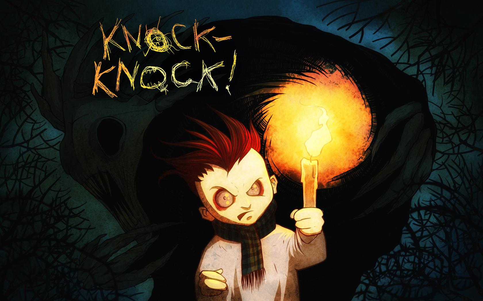 Арт к игре Knock-knock