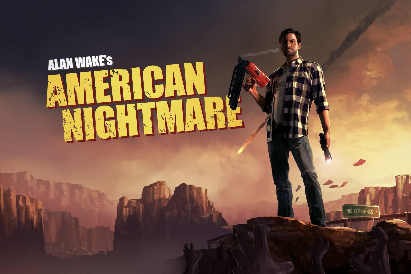 Арт к игре Alan Wake's American Nightmare