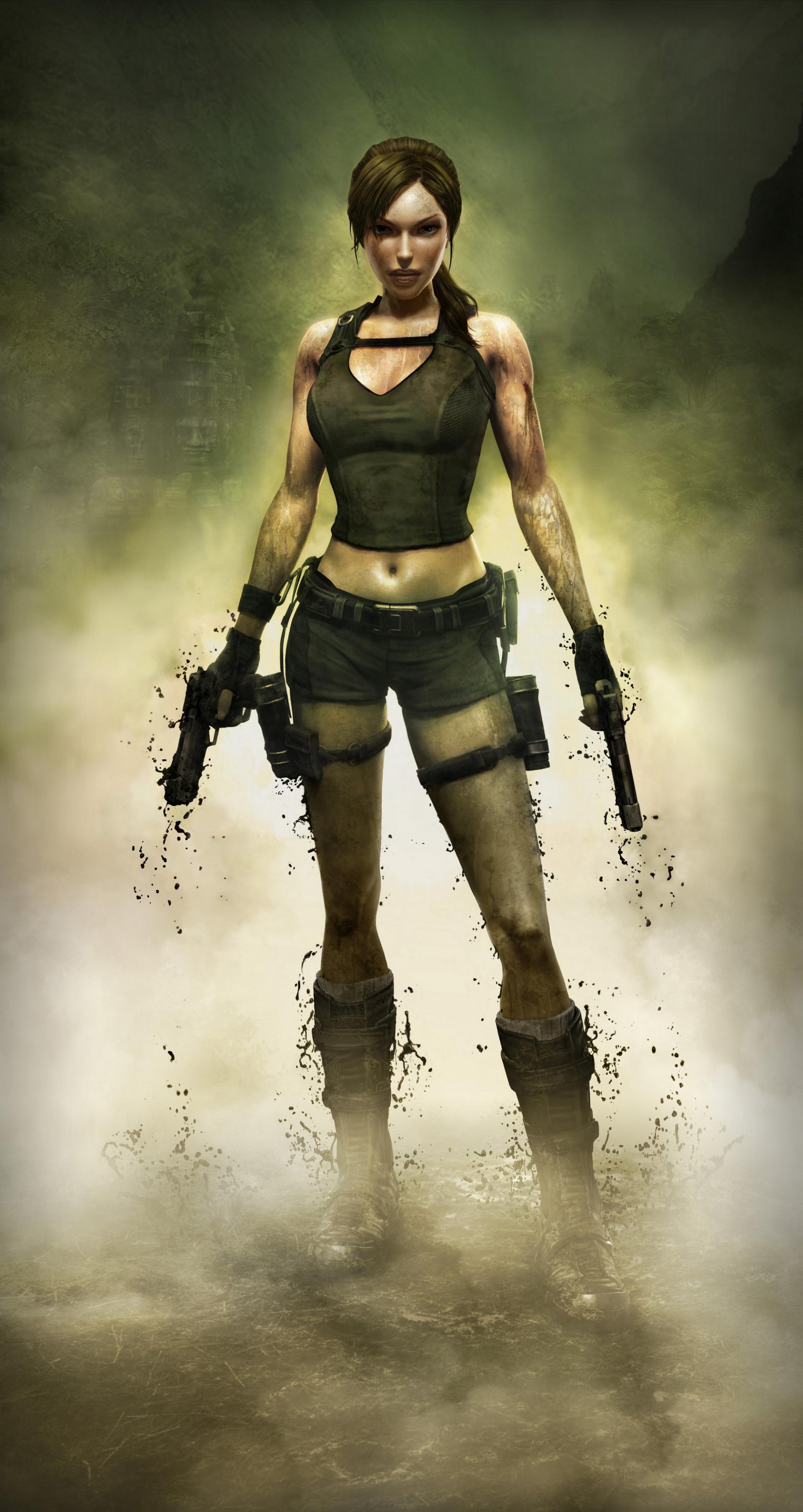 Арт к игре Tomb Raider: Underworld