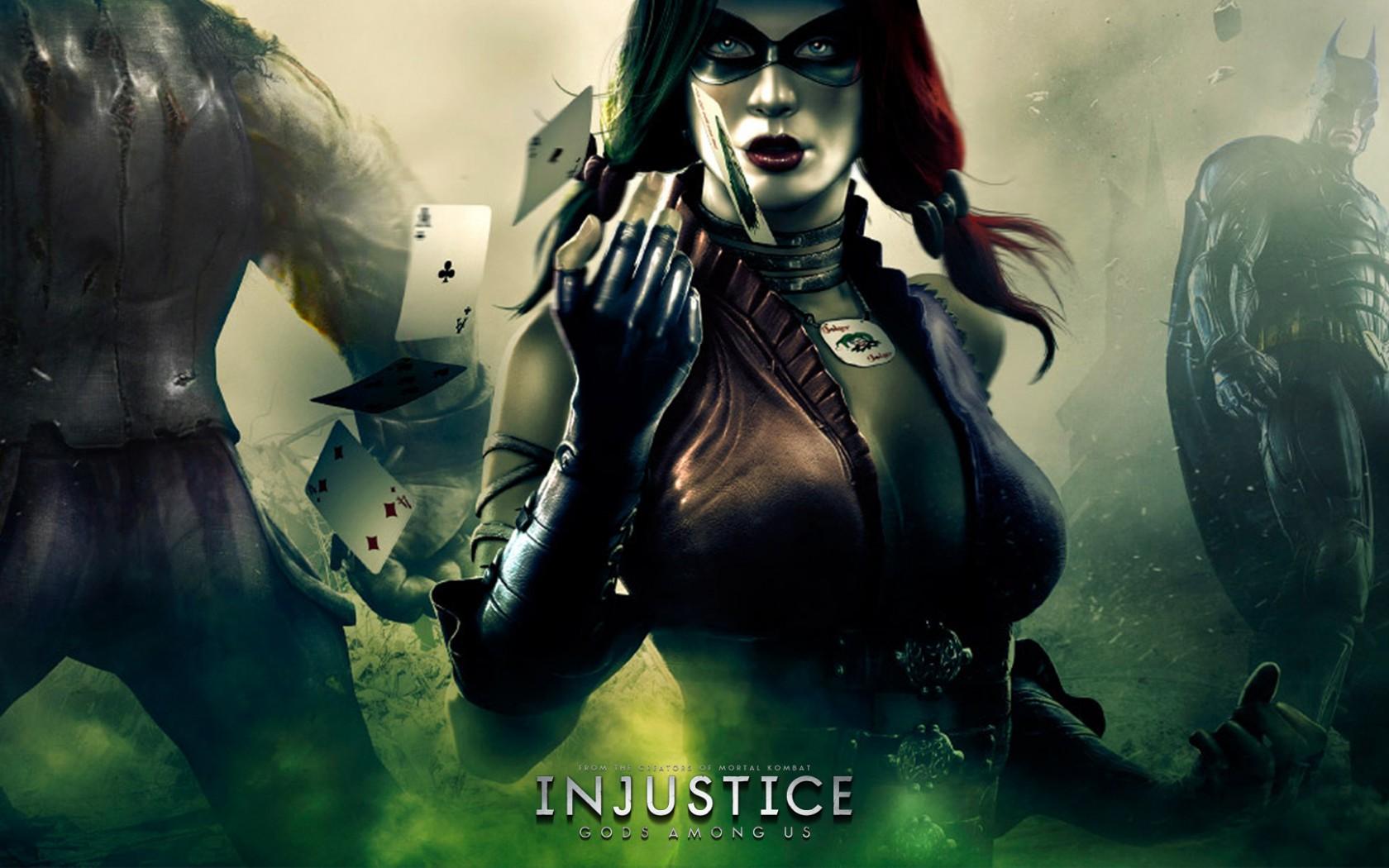 Арт к игре Injustice: Gods Among Us