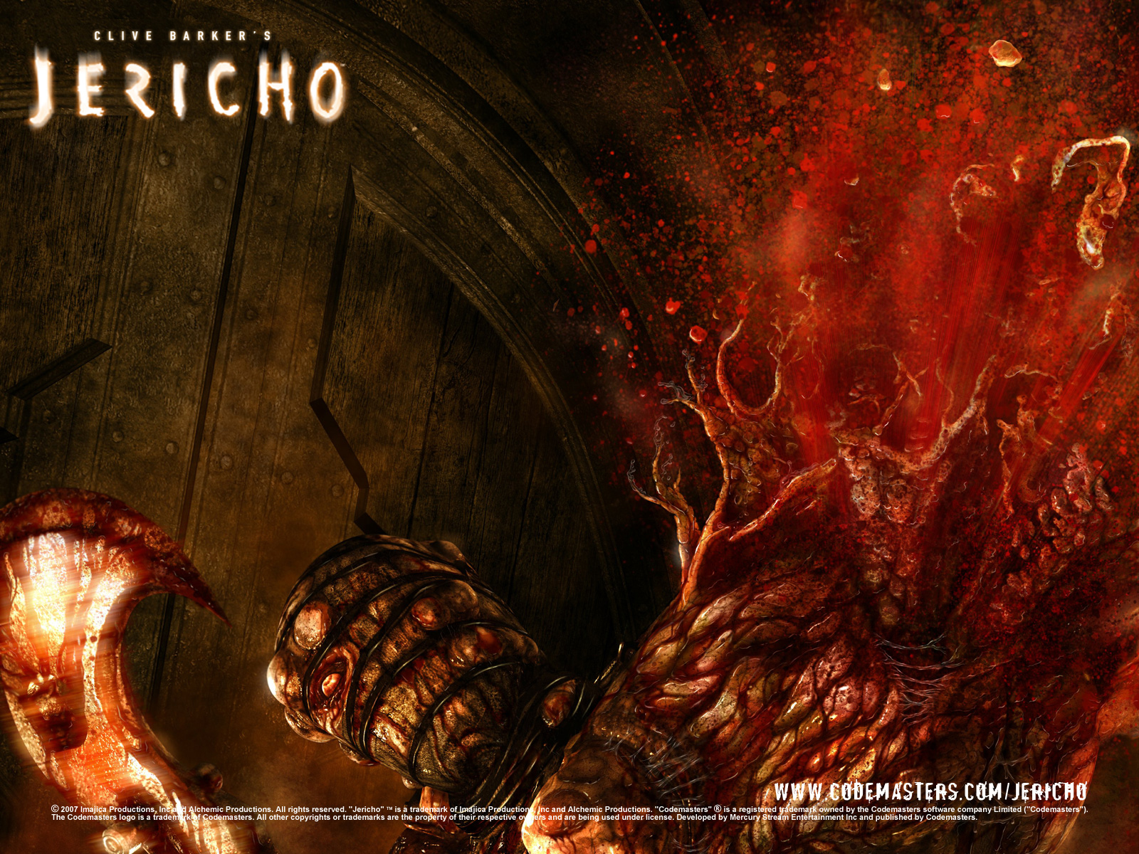 Арт к игре Clive Barker's Jericho