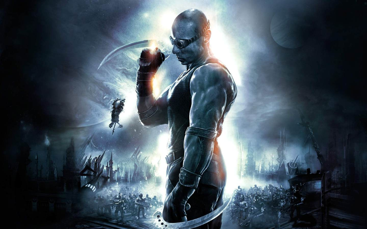 Арт к игре The Chronicles of Riddick: Assault on Dark Athena
