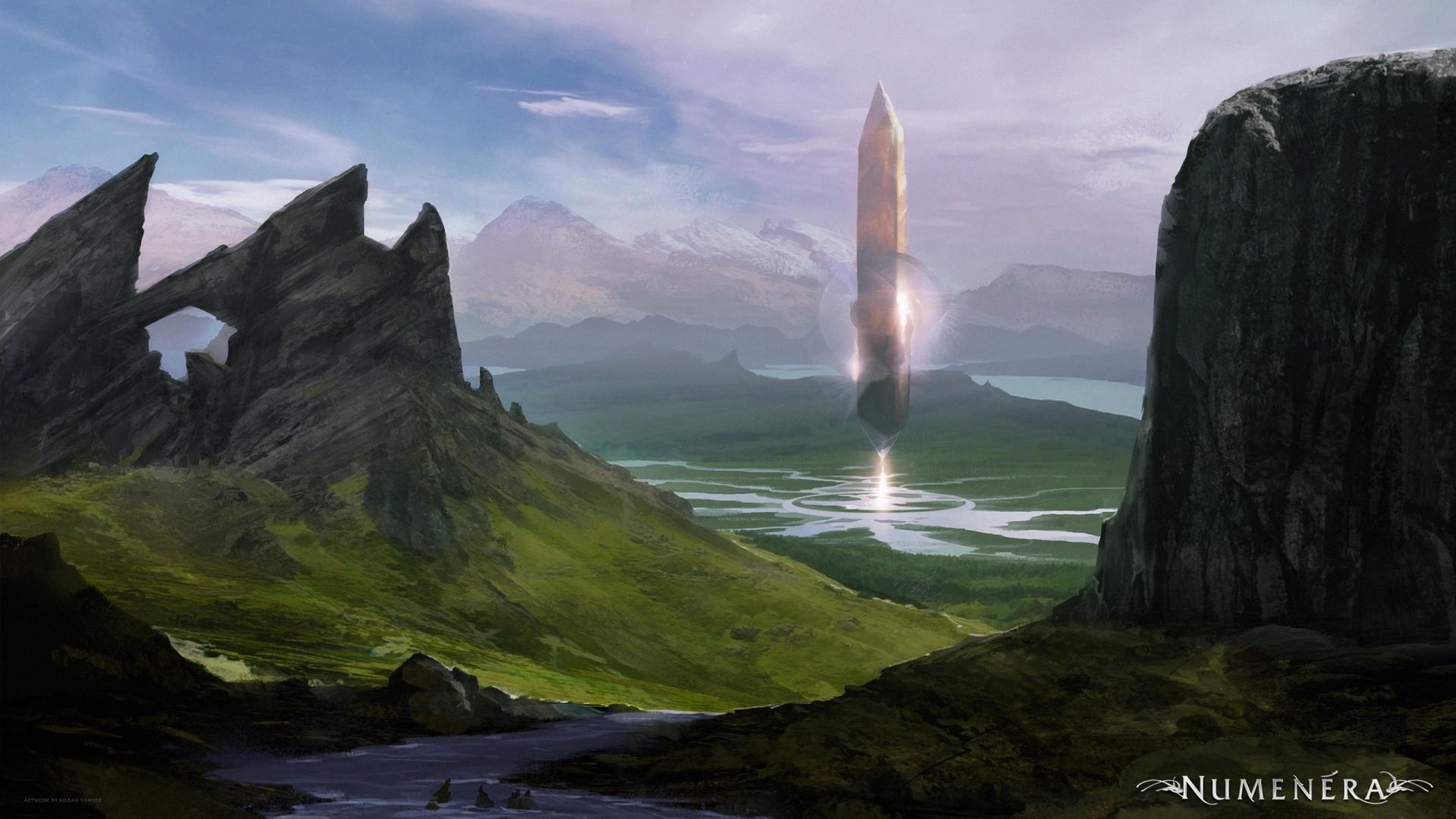 Арт к игре Torment: Tides of Numenera