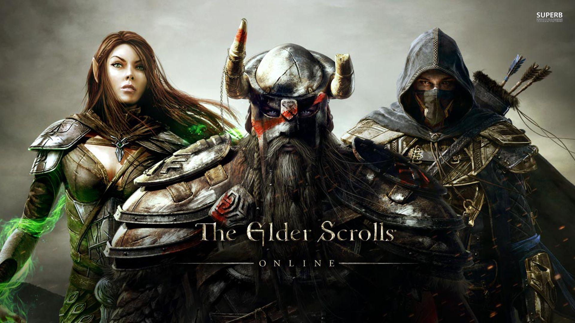 Арт к игре The Elder Scrolls Online