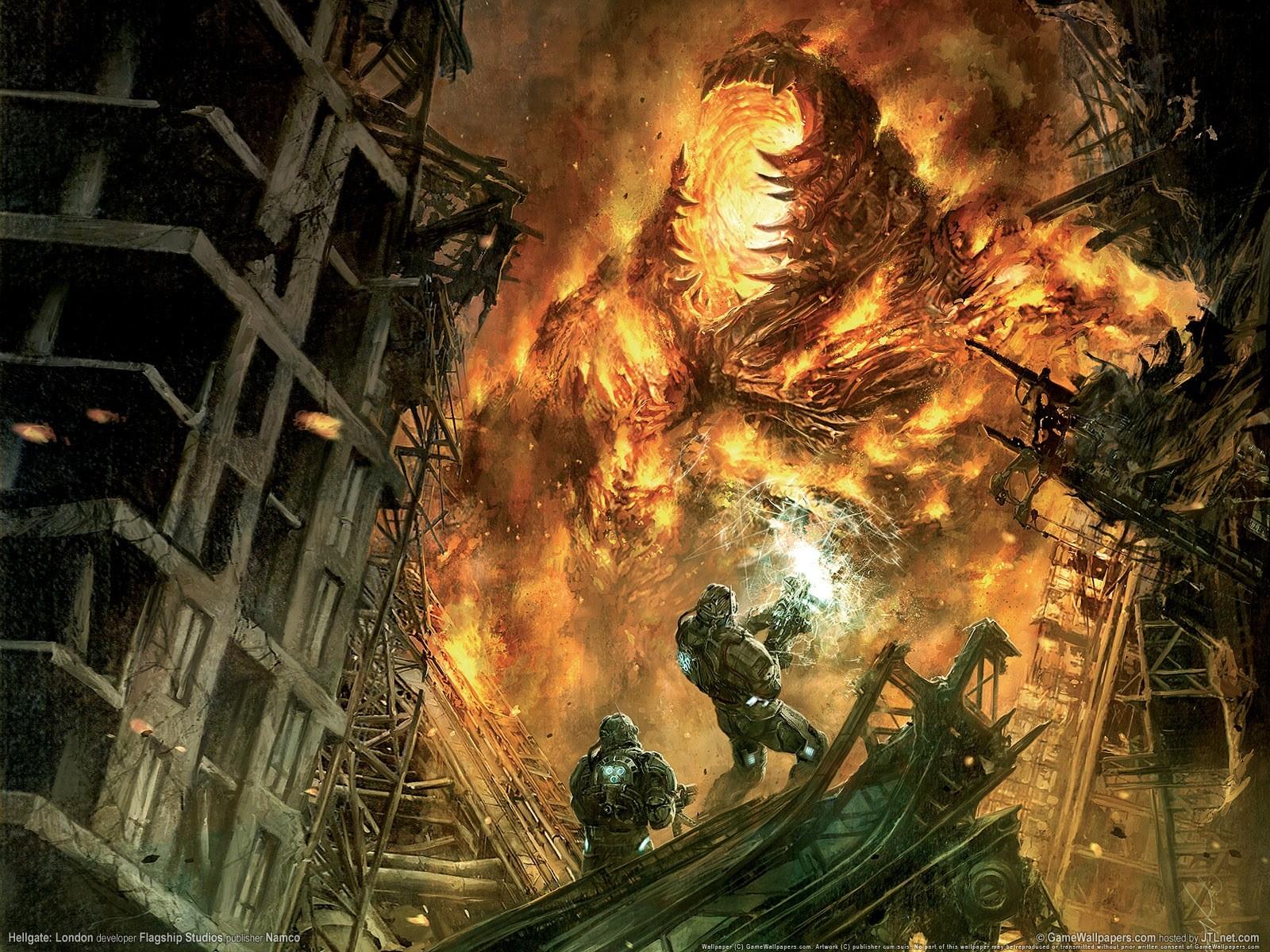 Арт к игре Hellgate: London