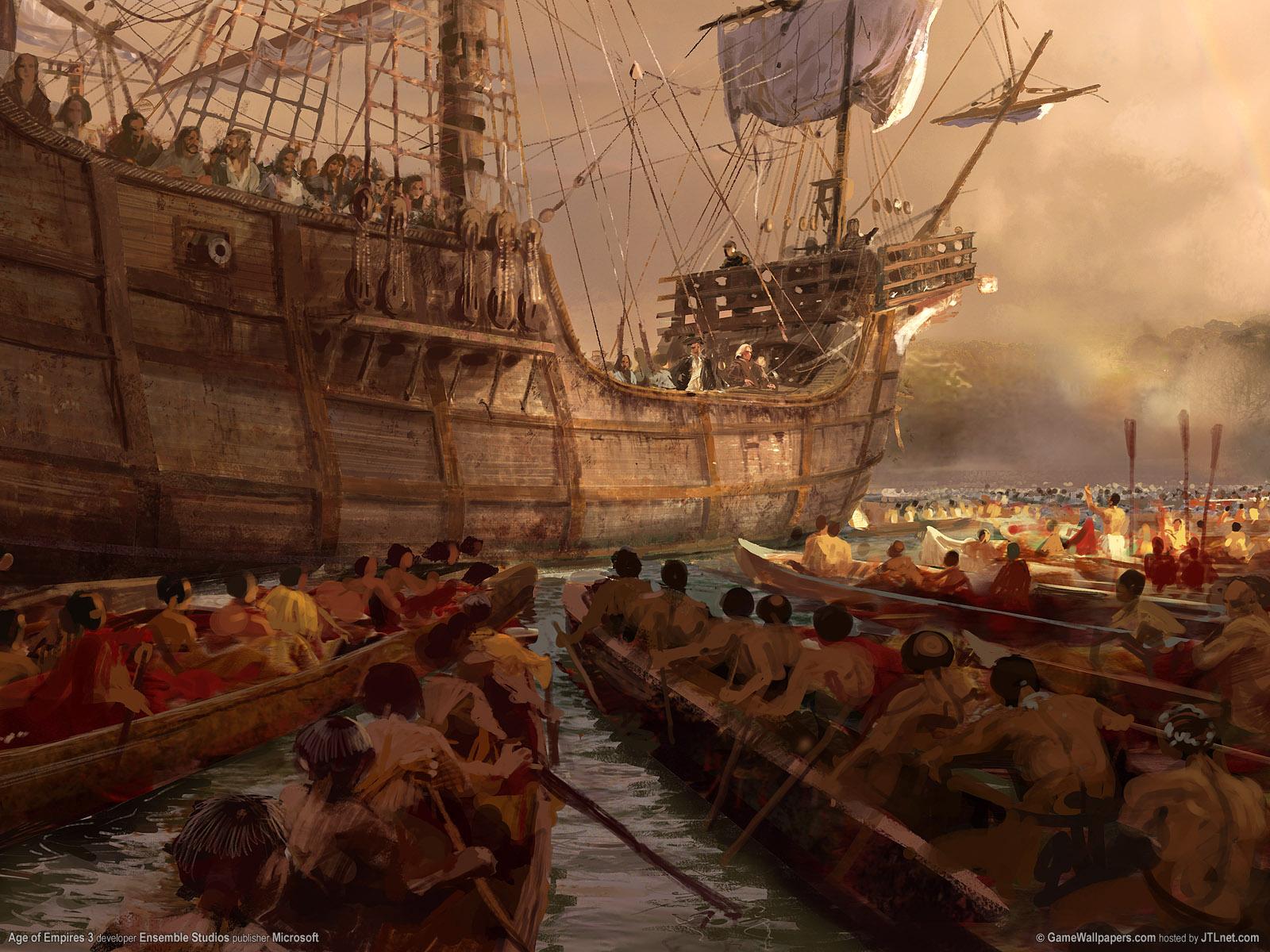 Арт к игре Age of Empires III