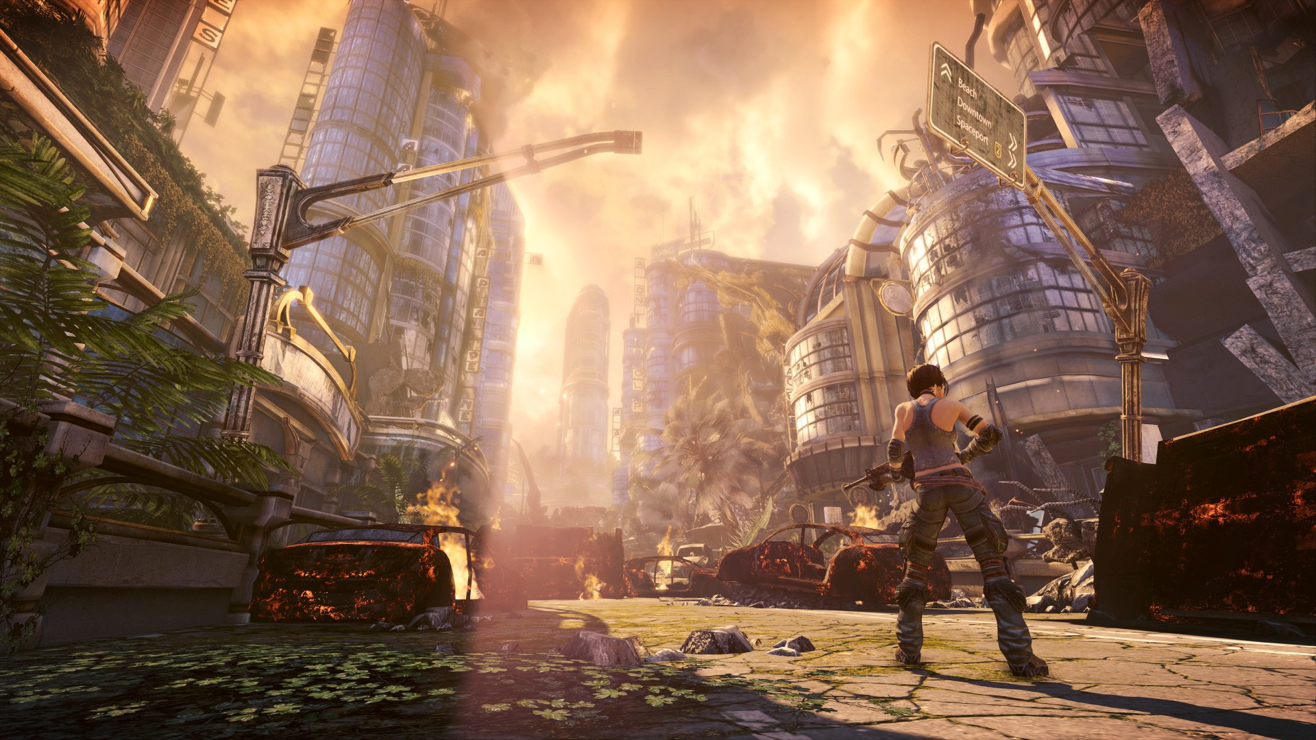 Арт к игре Bulletstorm