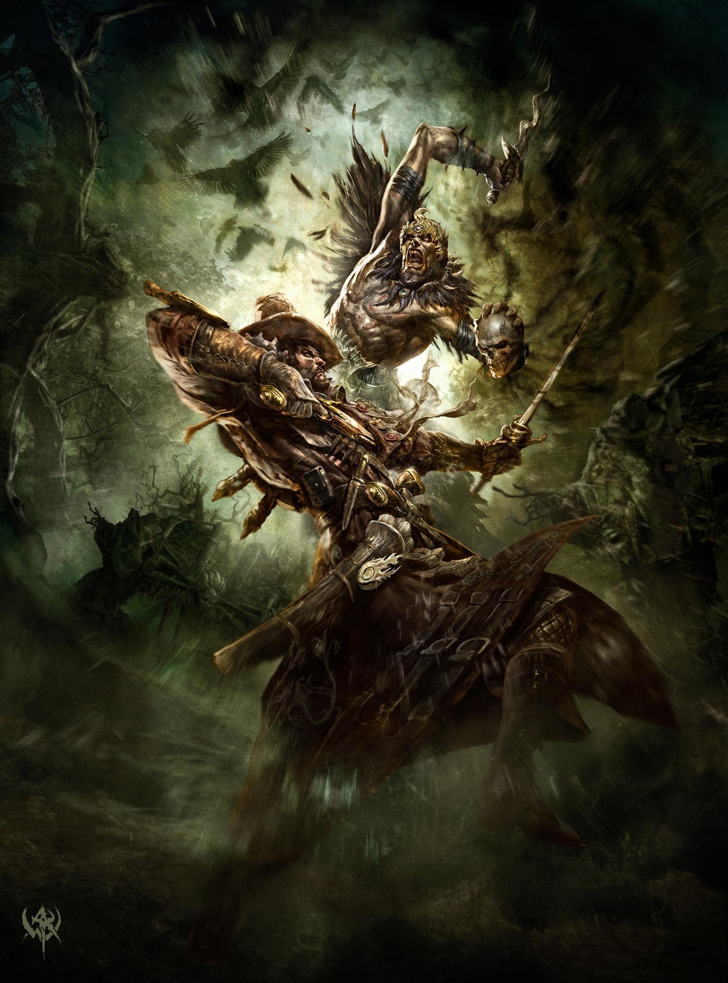 Арт к игре Warhammer Online: Age of Reckoning